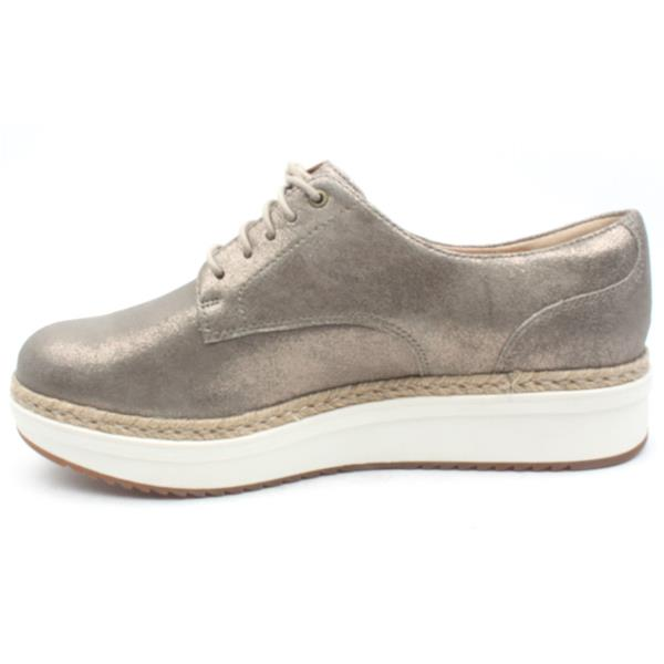 ClarksTEADALE RHEA - Espadrilles - pewter T1DPxH5Lu6