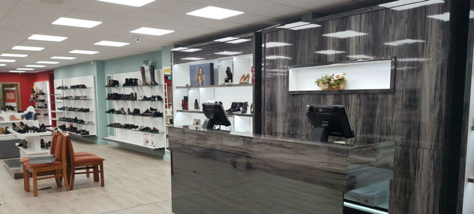 Cordners Shoes Navan Newly Renovated Store