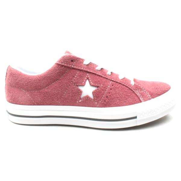 Converse 158370C One Star Ox - Burgundy  228dffa2f