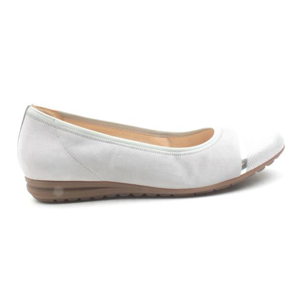 cdbaabd8c17 Gabor Flat Shoe 22622 - Grey