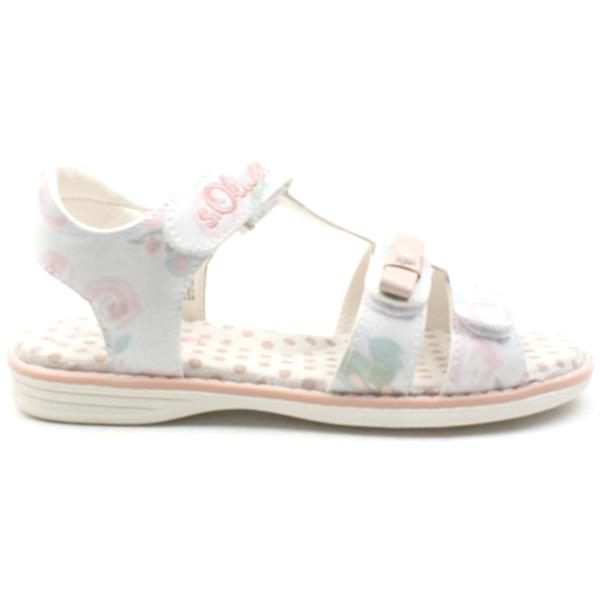 163fbfeaa3e540 Soliver 38210 Velcro Sandal - White