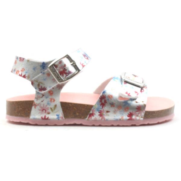 2565a47ee520 Pablosky 468853 Junior Sandal - Silver Multi