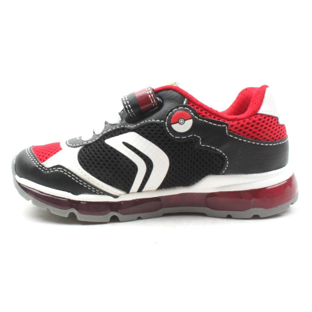 Geox J9244b Android Runner BlackRed | Shoeshop.Ie
