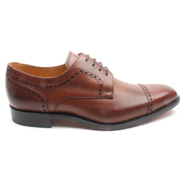 17df1942db9 Barker Mens Leo Laced Shoe - Dark Tan