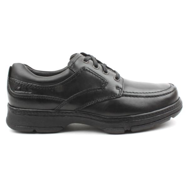 62202becd17b Clarks Mens Shoe Star Stride - Black