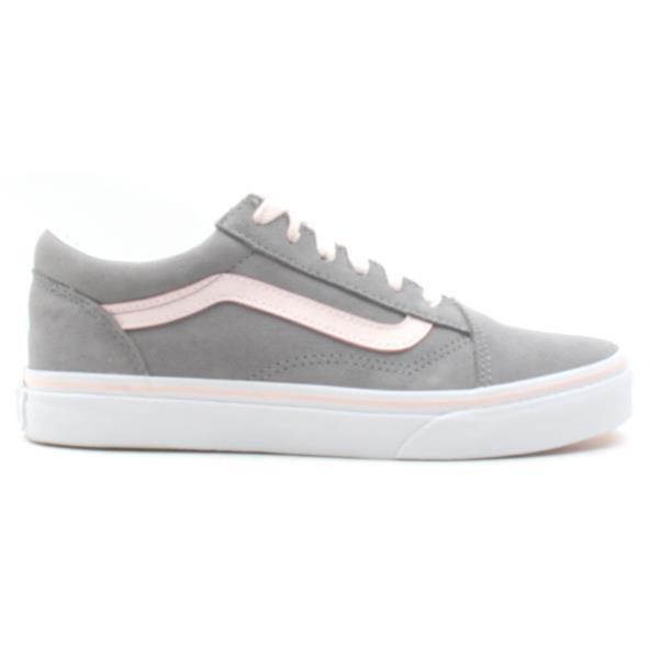 28771462df Vans Uy Old Skool Junior - Grey Pink